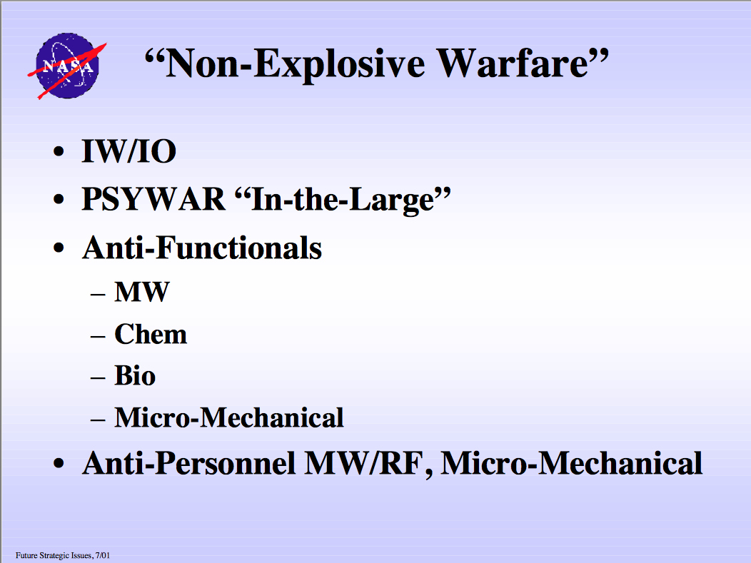 nasa future strategic issues/future warfare - HD1052×789